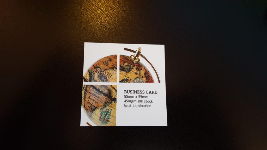 Read more about the article New Products – Square, Mini & Folded Business Cards