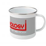 Custom Printed Enamel Mug